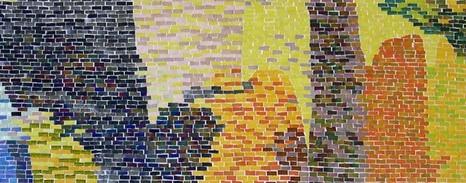 Mosaico per 'Le Muse Pazienti'
