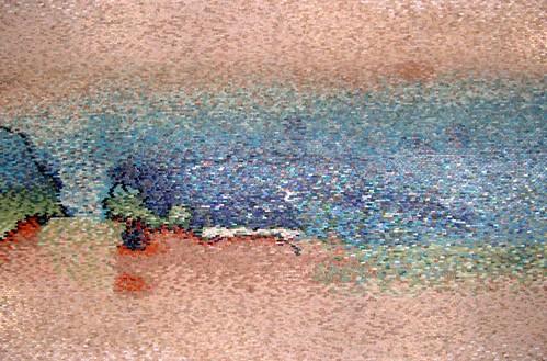 'Venezia', mosaico cm 500x350, palazzo privato sul Canalgrande, Venezia